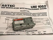 ASTEC UM1662 UHF RF MODULATOR WITH SOUND                                   blb22