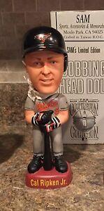 Cal Ripken Jr Baltimore Orioles gray uniform SAM bobblehead nodder