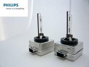 2 NEW!! OEM Philips HID-D1S Headlight Bulb 85410 35w 4300K GERMANY EMS SHIPPING
