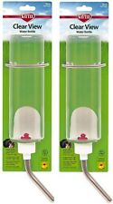 Kaytee Small Animal Clear Water Bottle, 16 Ounces Per Bottle (2 Pack)