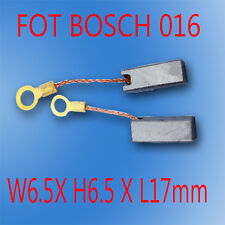 Carbon Brushes For Bosch 016 Grinder Saw 6.5X6.5X17mm  AU