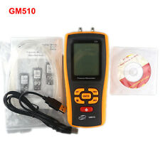 GM510 Handheld Digital Air Pressure Meter Manometer +/- 10kPa Measuring Tester