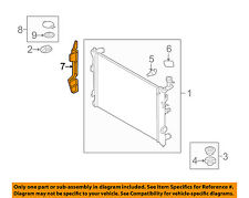 KIA OEM 10-13 Forte 2.0L-L4 Radiator-Air Guide Left 291351M000