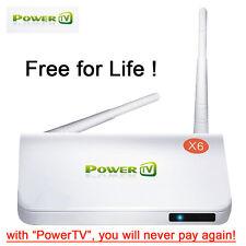 """PowerTV"" Arabic TV box IPTV box support 400+ Arabic channels Free for life!"