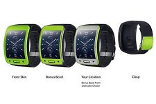 Samsung Gear S Watch Skin Kits Antimicrobial Matte Series by Junglewrap