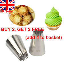 Russian Nozzles Icing Piping Nozzles Flower Nozzle Baking Mold Ice Cream Tool ~