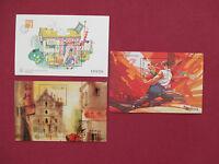 Macau Briefmarken Postfrisch Block Mi.Nr. 42 + 43 + 45