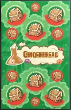 Dr. Stinky's Scratch & Sniff Stickers - Gingerbread - Excellent!!