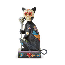 Jim Shore Halloween Day Of The Dead Cat-Souls Remembered Figurine 6004327