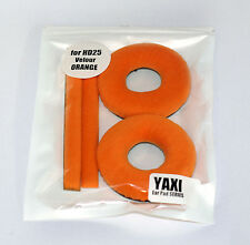 High quality Orange Velour pads for sennheiser HD25-1 by YAXI HD25 mk II