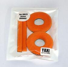 Haute Qualité Orange Velours Patins Pour Sennheiser HD25-1 par Yaxi HD25 Mk II