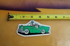 MR Green Classic Car Gansta Dice Mirror 90's C1 Vintage Skate Style STICKER