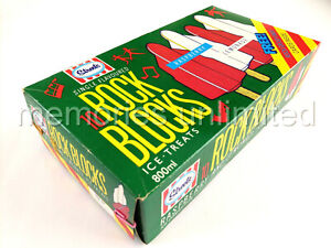 "1985 Streets Ice Cream SINGLE FLAVOURED ""ROCK BLOCKS"" ICE TREATS DISPLAY BOX"