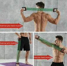 5 Springs Chest Expander Exercise Muscle Pulling Gym Handle Resistance Training