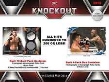 2019 TOPPS UFC KNOCKOUT SEALED HOBBY BOX