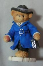 "CHERISHED TEDDIE ""TRACY JAMES BEAR  2001 MEMBEARSHIP FIGURINE MINT IN BOX CT107"