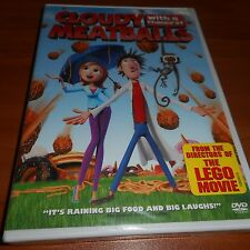 Cloudy With a Chance of Meatballs (DVD Widescreen/Full Frame 2010) Animated NEW
