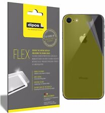 3x Apple iPhone 8 Rueckseite Screen Protector Protective Film covers 100% dipos