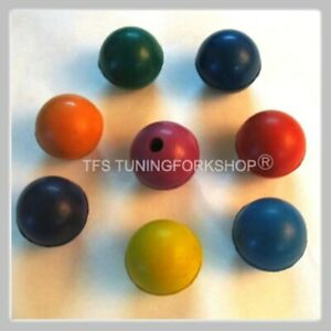 8 x 2 sets of Tuning fork Rubber balls