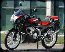 Aprilia 125 Touno 03 A4 Metal Sign Motorbike Vintage Aged
