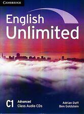 Cambridge ENGLISH UNLIMITED ADVANCED C1 Class Audio CD's (3) @NEW@