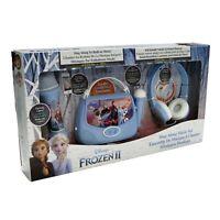 Frozen 2 Gift Box inc Headphones, Karaoke Boombox, MP3 Microphone with Lights