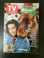 TV Guide December 21-27, 1991 #2021 - Northern Exposure - Cher - Christine Fahey
