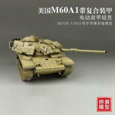 MiniHobby 80105 1/35 US M60A1 Main Battle Tank MBT Electric Plastic Model Motor