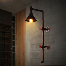 Retro Industrial Rustic Water tube Wall Lamp Steampunk Sconce Hall Cafe Decor