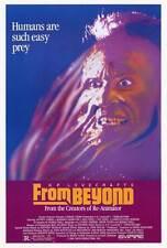 FROM BEYOND Movie POSTER 27x40 Jeffrey Combs Barbara Crampton Ted Sorel Ken