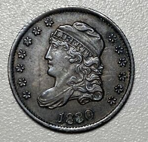 1830 Capped Bust Half Dime H10C