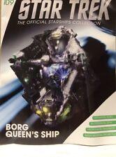 STAR TREK Official Starships Magazine #109 Borg Queen's Vessel Model Eaglemoss