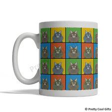 Siberian Cat Mug - Cartoon Pop-Art Coffee Tea Cup 11oz Ceramic
