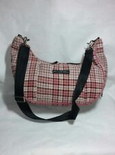 Petunia Pickle Bottom Pink Tweed Raspberry Fields Plaid Touring Tote - Great Con