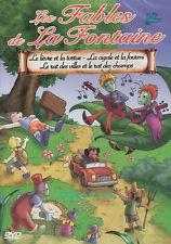 DVD  Les Fables de la Fontaines  3 Fables - DVD éducatif