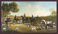"1759 Horses,Hunting Dogs, Antique , GEORGE STUBBS, ART, 17""x10"""