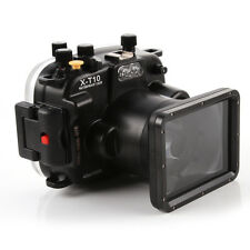 Meikon 40m 130ft Waterproof Housing Underwater Dving Case fr Fujifilm Fuji X-T10