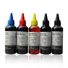 5 BOTTLES 100ml Ink for Canon REFILL CISS or CARTIRIDGE