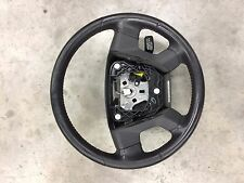 2008-2009 DODGE CALIBER SRT-4 DARK SLATE GRAY STEERING WHEEL RED STITCHING AUDIO