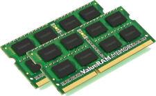 Memoria RAM Kingston per prodotti informatici con velocità bus PC3-10600 (DDR3-1333) da 2 moduli