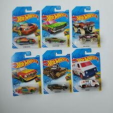 Hot Wheels HW Art Cars Lot of 6 (1/10, 4/10, 5/10, 7/10, 8/10, 9/10)