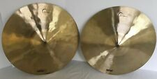 "Dream 13"" Contact Series Hi Hat Cymbal Pair Traditional Finish B20 Alloy"