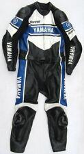 Top DAINESE Yamaha Gr. 54 Zweiteiler Lederkombi schwarz blau weiß