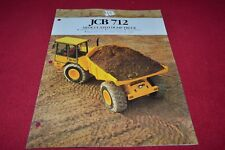 JCB 712 Articulated Dump Truck Dealer's Brochure YABE15