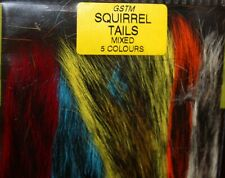 Fly Tying Veniard Mixed Squirrel Tail pieces L17
