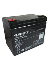 12V 33ah DEEP CYCLE SLA RE-CHARGEABLE BATTERY | Power for Camping, Fishing