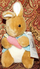 Vintage '90s Beatrix Potter Peter Rabbit Plush 100th Anniversary RARE NEW Tags