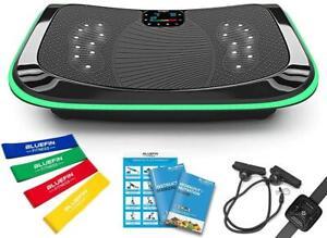 Bluefin 4D-Vibrationsplatte Fitnessgerät Tripel Motor Bluetooth Fernbedienung s