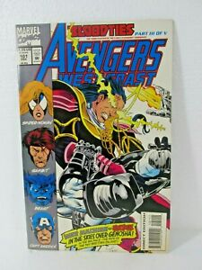 Lot Of 3 Marvel Comics Avengers West Coast #101, Allegiance #369, X-Men #26