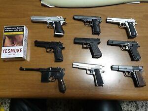 Collezione pistole e revolver Fabbri 9 pezzi